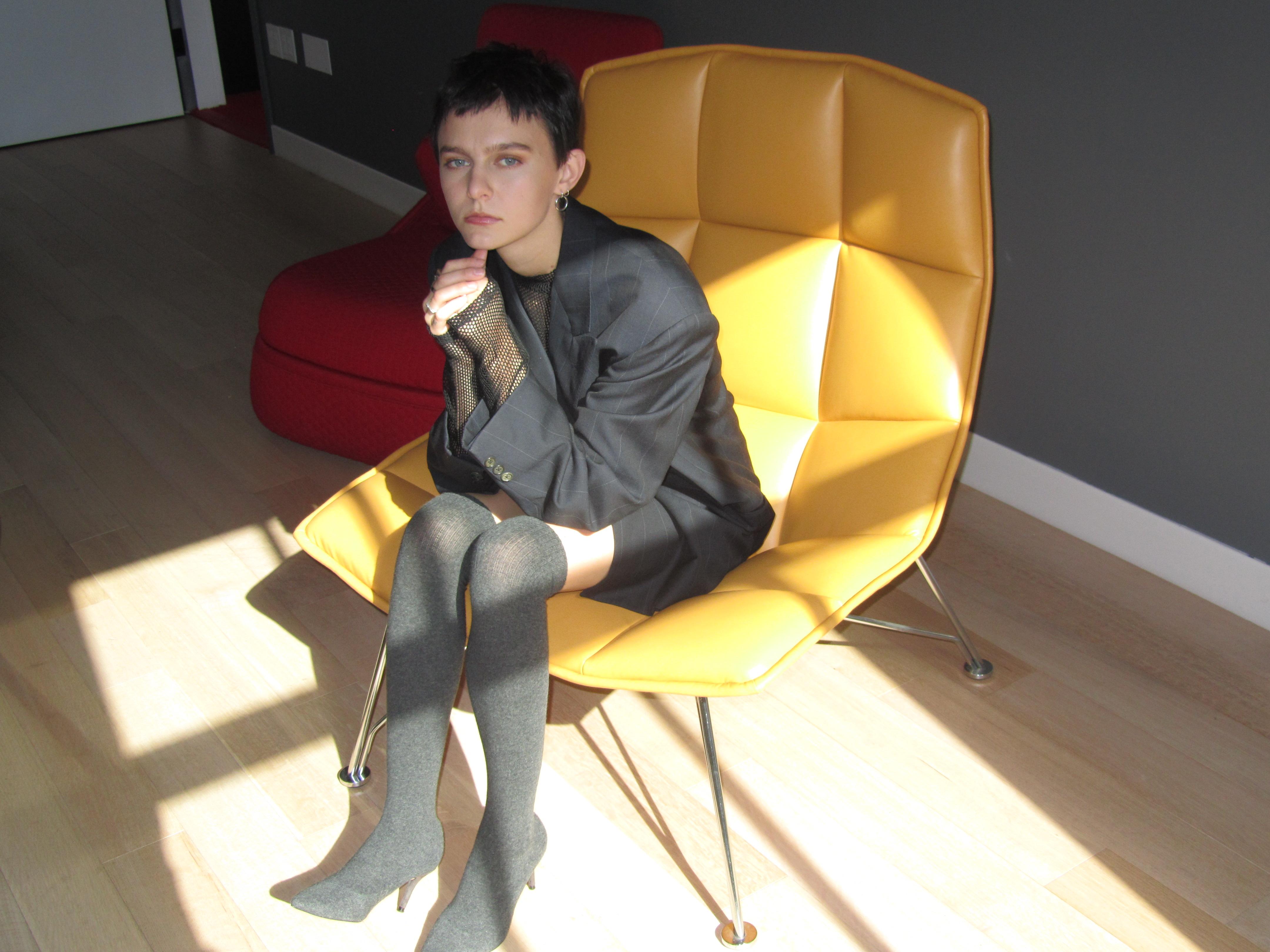 Morgan Saint, The Visual Way | elleseesnyc