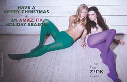 Holiday 2016 Card - Z!NK Magazine