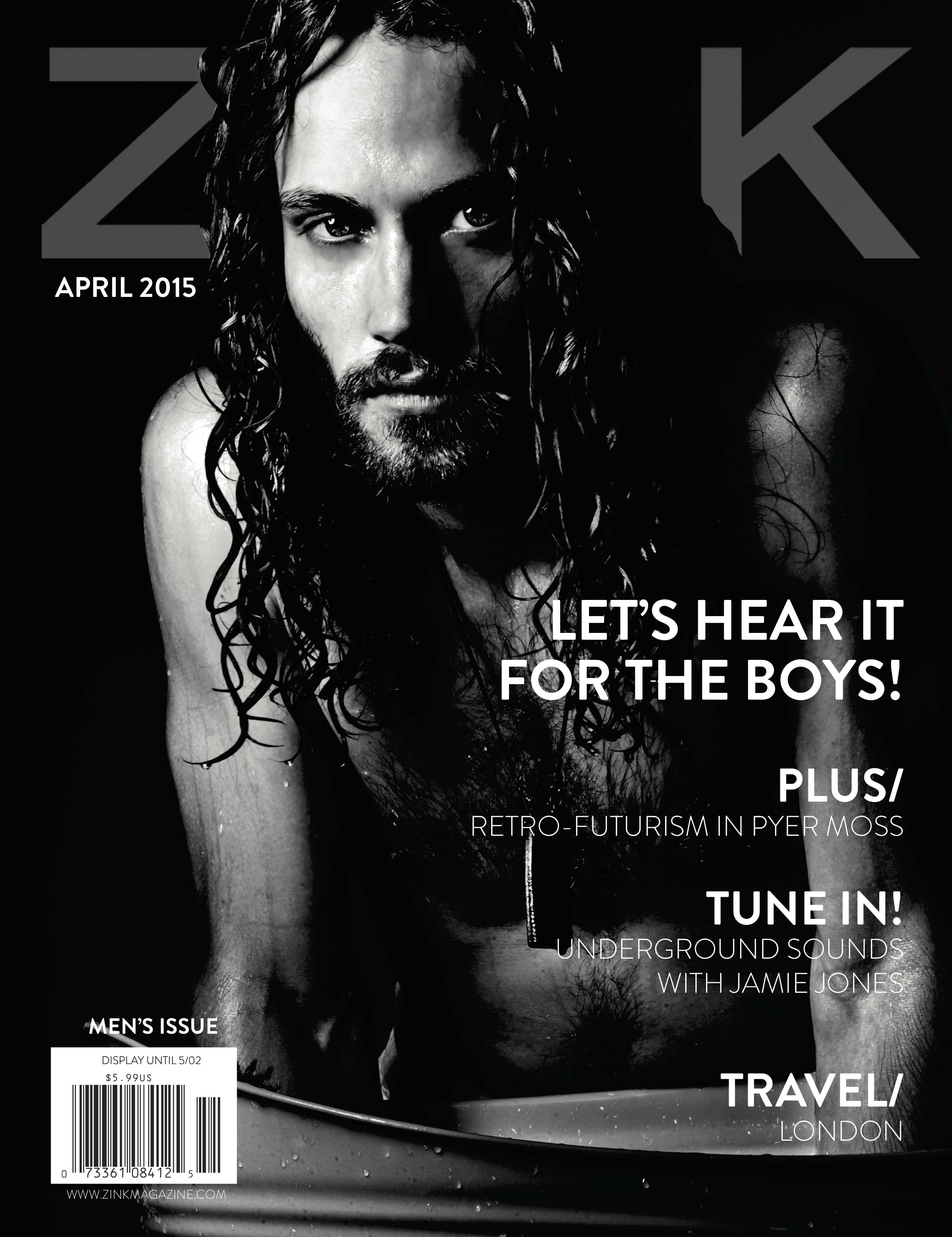 April 2015 Cover - Z!NK Magazine