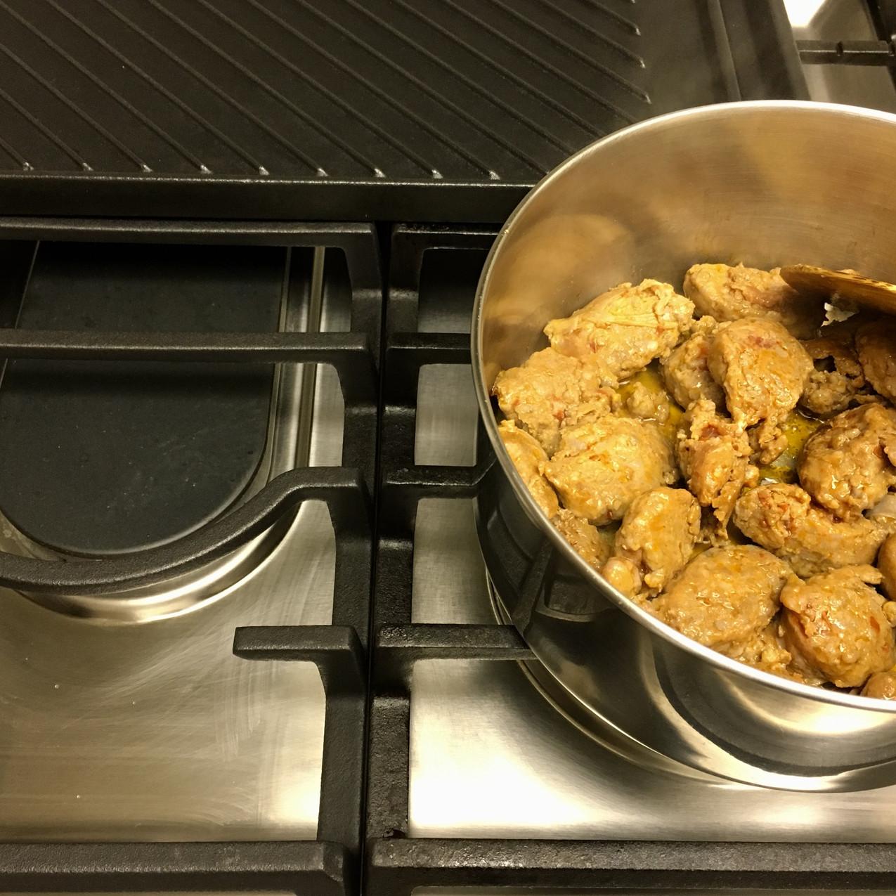 Cook over medium-high heat