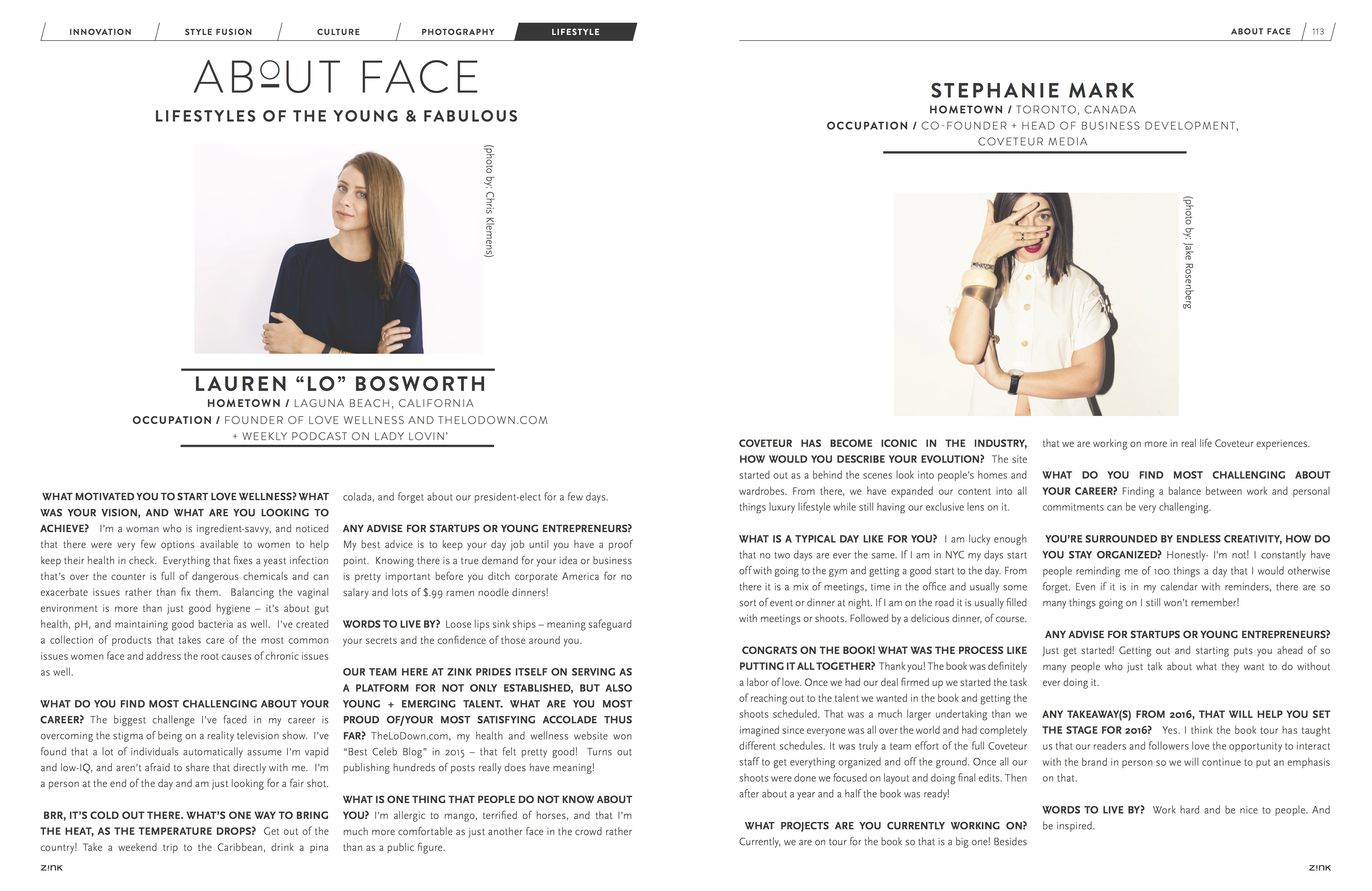 About Face Holiday 2016 - Z!NK