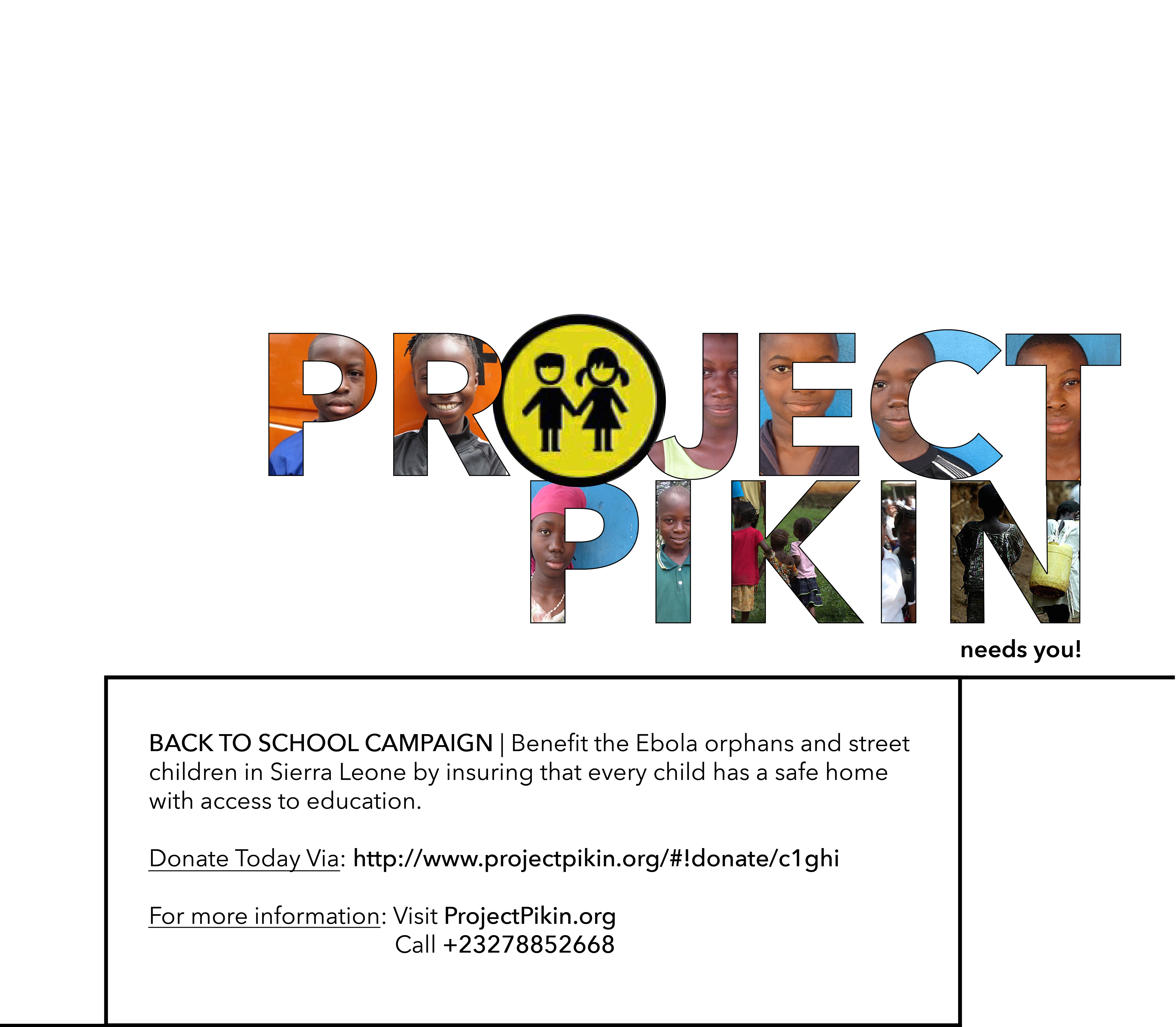 Project Pikin Ad Page