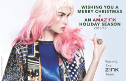 Holiday 2015 Card - Z!NK Magazine