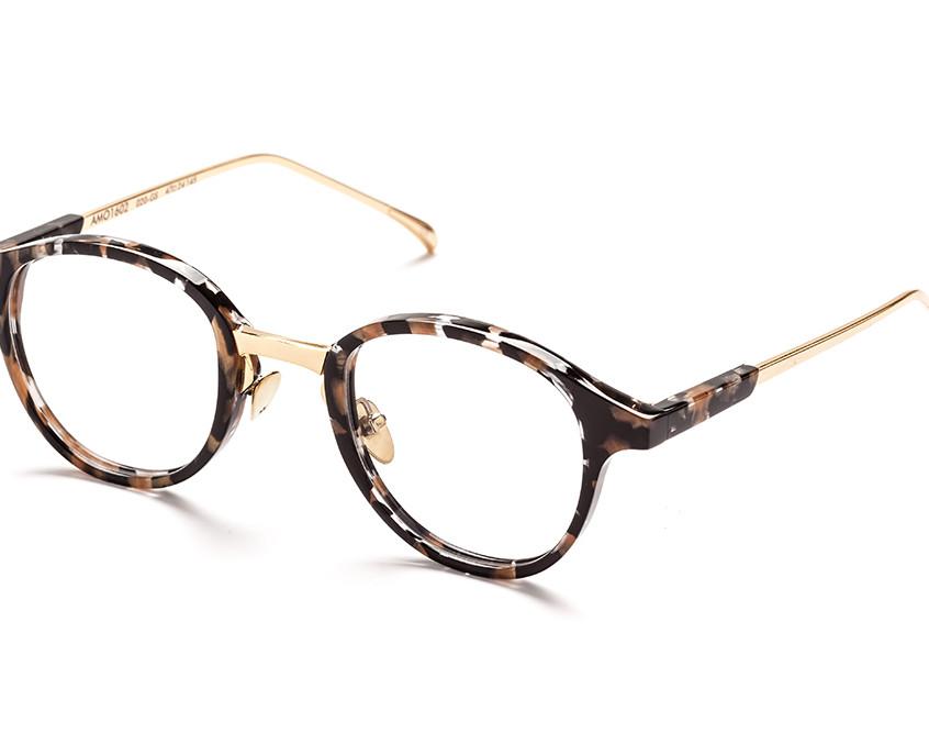 AM Eyewear Wright Frame, in Gold S..