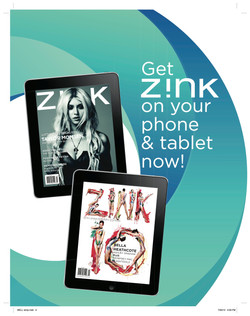 Google Currents Ad - Z!NK Magazine