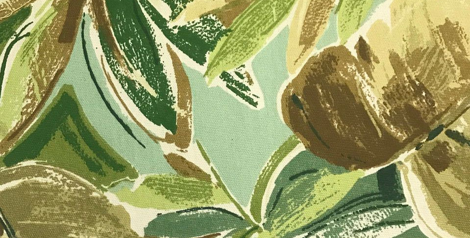 Palm Beach - Green and Blue - Outdoor Fabric