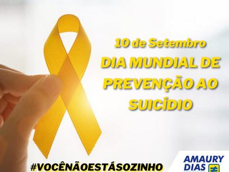 DIA MUNDIAL DE PREVENÇÃO AO SUICÍDIO 💛