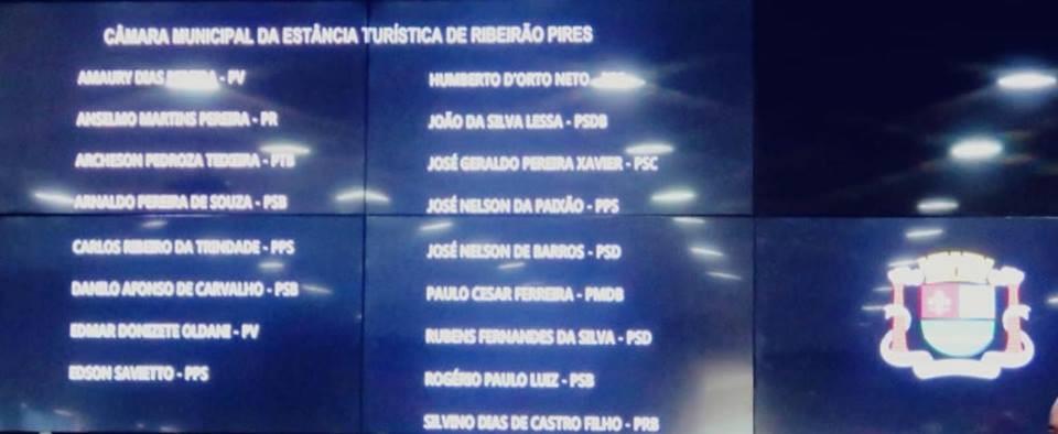 Vereador Amaury Dias Pereira