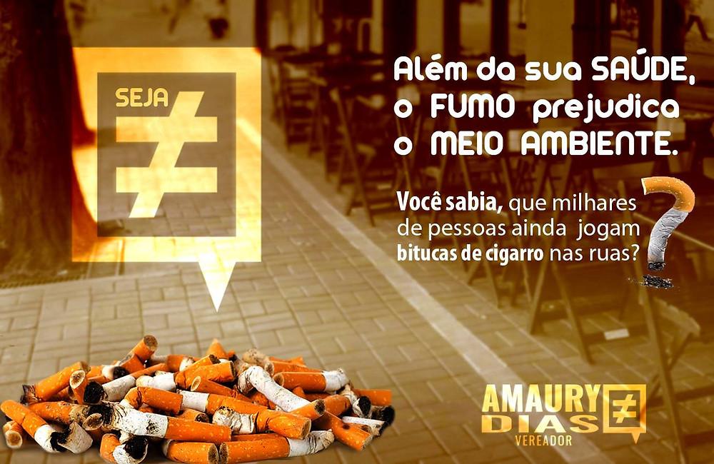 Vereador Amaury Dias Meio Ambiente bituqueiras