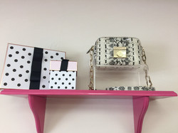 PURSE AND BOXES FROM DIM