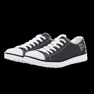 White EVA High Low Canvas shoes