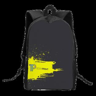 Kids Black Chain Backpack