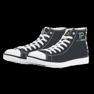 White EVA High Top Canvas shoes