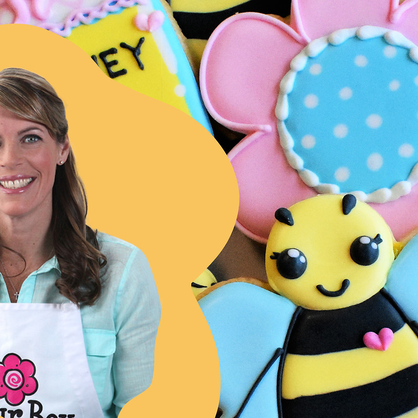 Recording of April Bee Cookie Decorating Class with Anne York -