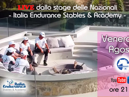 ENDURANCE & dintorni LIVE da Italia Endurance Stables & Academy