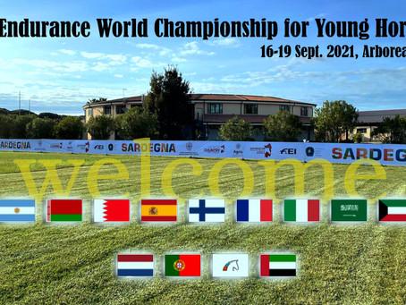 FEI Endurance World Championship for Young Horses 2021, Arborea