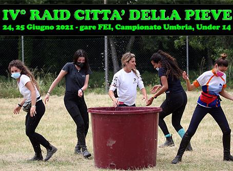 IV° RAID CITTA' DELLA PIEVE: LA FESTA CONTINUA