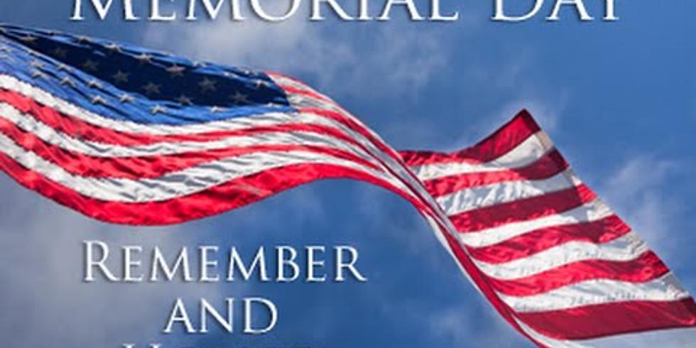 Memorial Day Parade and Ceremony