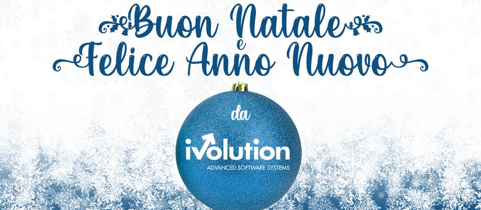 Dal team iVolution, un augurio di cuore di Buon Natale e Felice 2021!