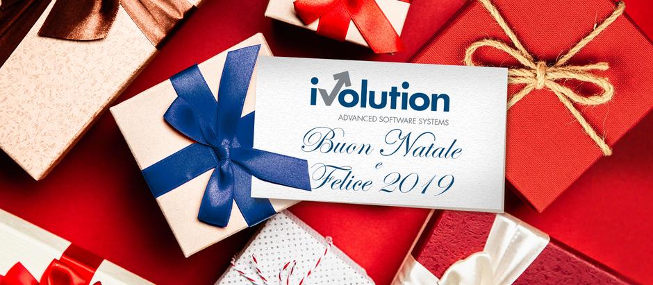 Da iVolution i migliori auguri di Buon Natale e Felice 2019!!!