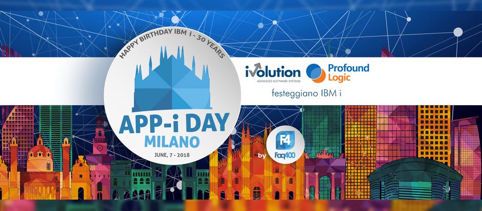 iVolution festeggia i 30 anni di IBM i all'App-i-day di Milano