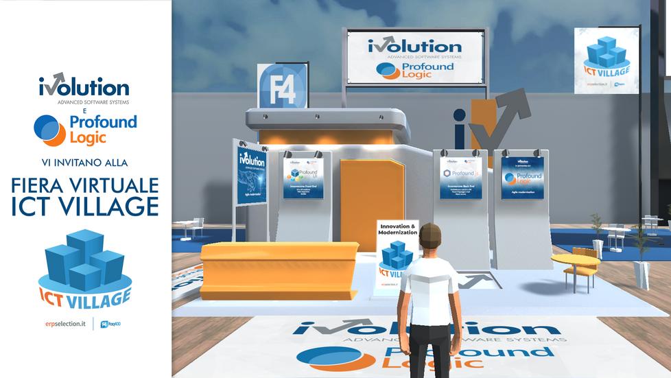Ivolution e Profound Logic main sponsor all'evento ICT Village!