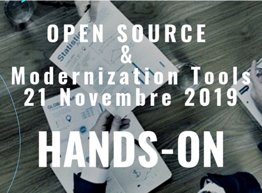 HANDS-ON: OPEN SOURCE & Modernization Tools