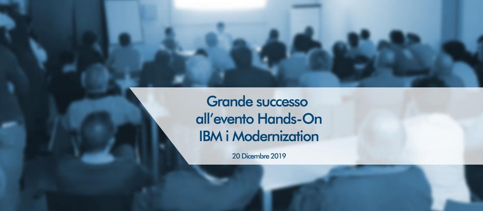 Grande successo all'evento Hands-on IBM i Modernization