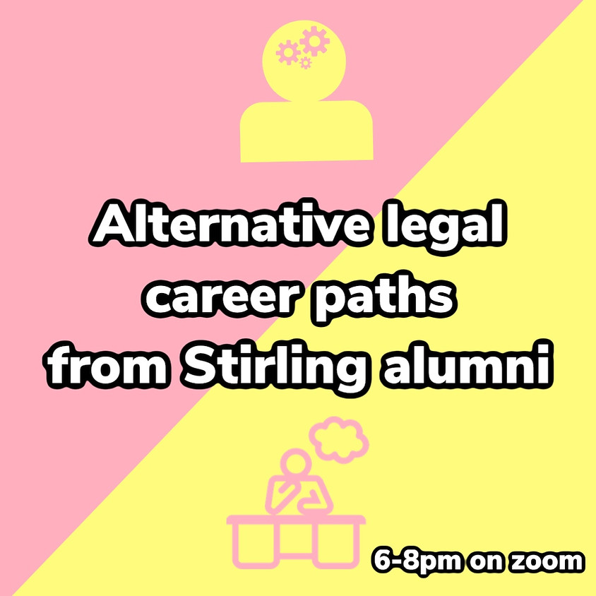Alternative legal career paths from Stirling alumni