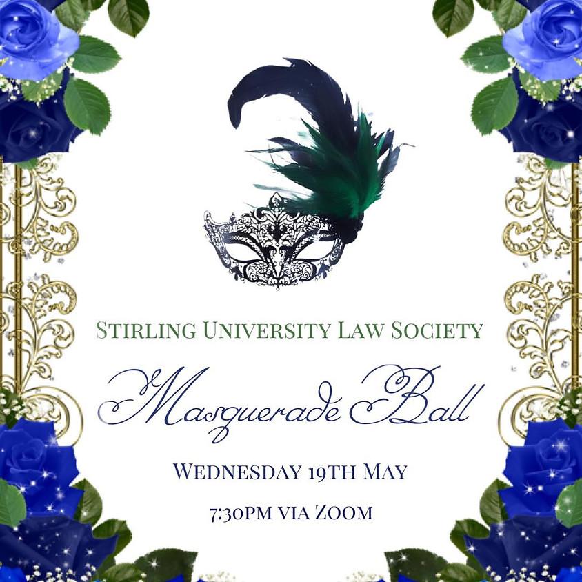 Stirling University Law Society Masquerade Ball 2021