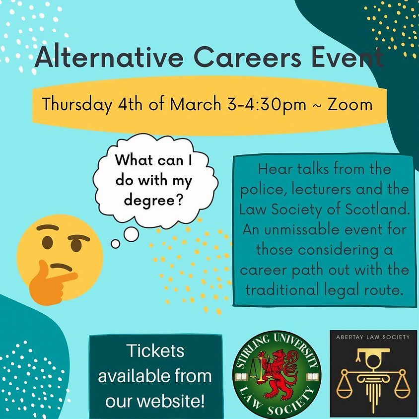 Alternative Careers Event