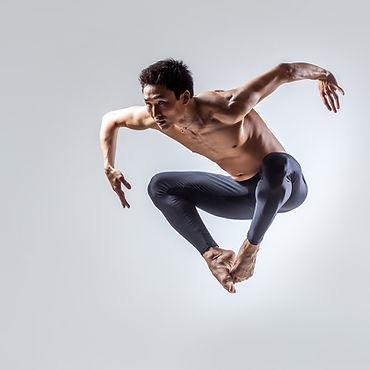Danseur saut