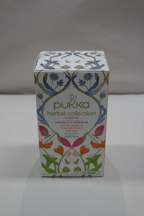 Pukka Organic Tea Collections Assorted - 20 Pack