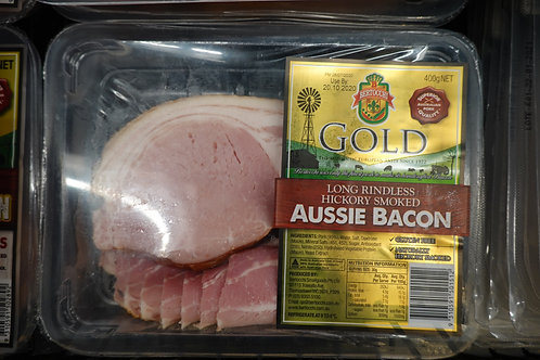 Bertocchi Long Rindless Hickory Smoked Aussie Bacon - 400g