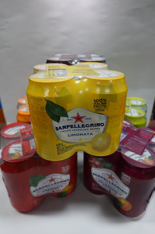 Sanpellegrino Italian Sparkling Drinks Assorted Cans