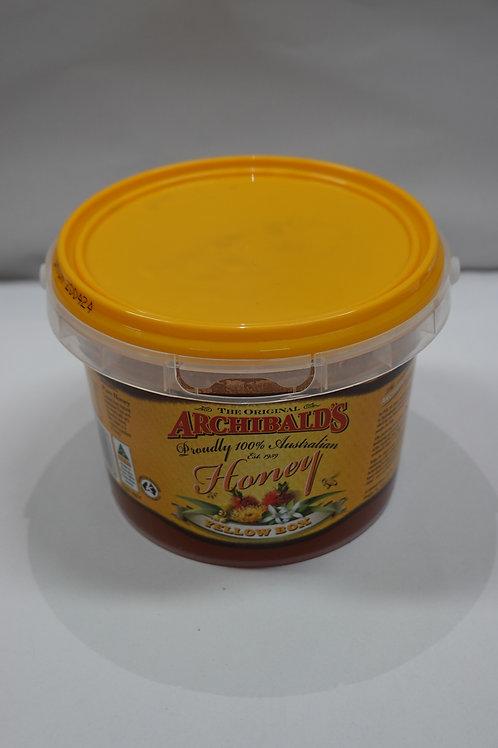 Archibald's Yellow Box Honey - 1kg