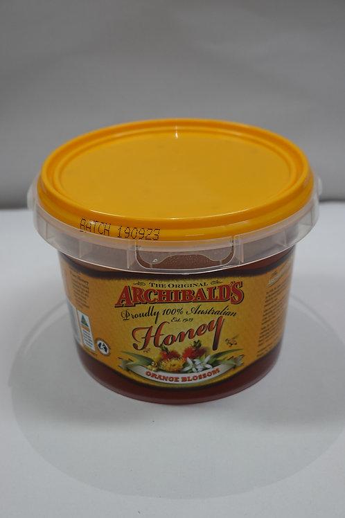 Archibald's Orange Blossom Honey - 1kg