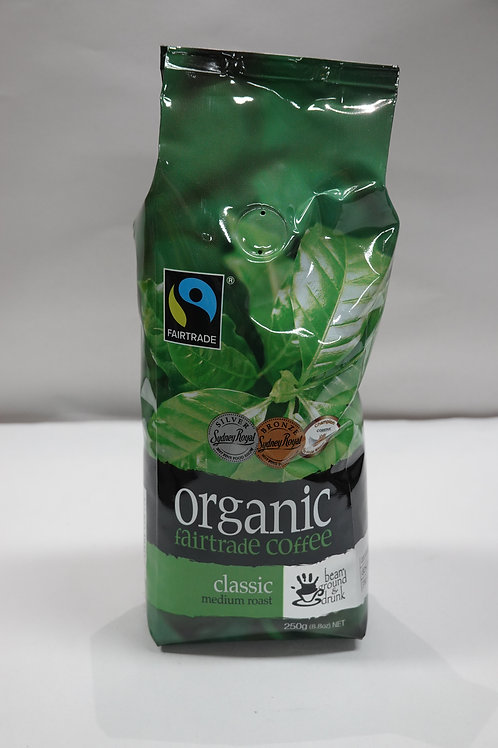 Organic Fairtrade Coffee Classic Medium Roast