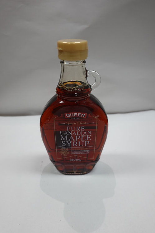Queen Pure Canadian Maple Syrup - 250ml