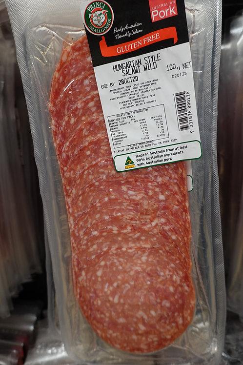 Princi Small Goods Hungarian Style Salami Mild - 100g