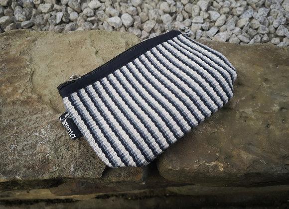Small Pouch - Grey Stripe