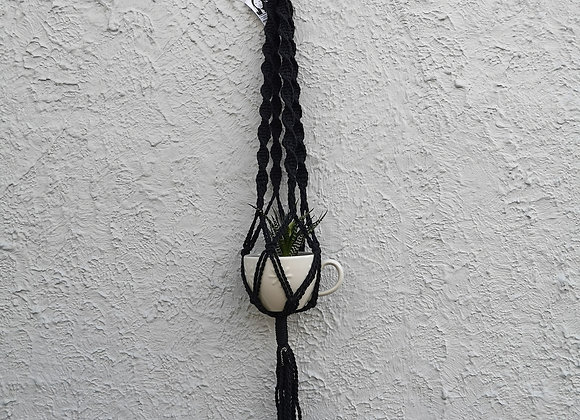 Plant Hanger : Archana (medium) Black