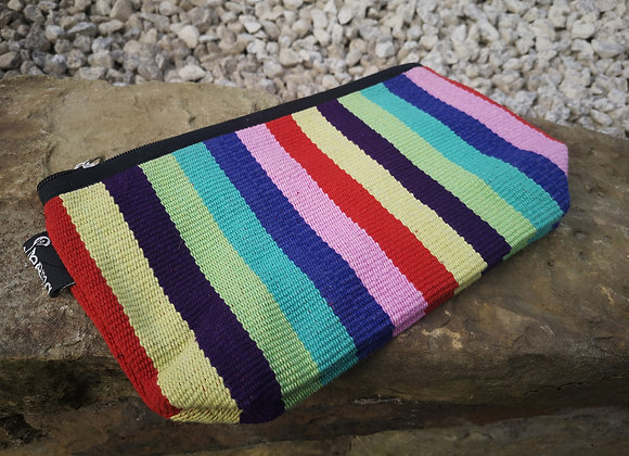 Medium Pouch - Retro Stripes