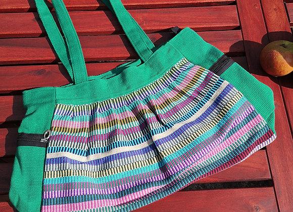 Gathered Bag : Green