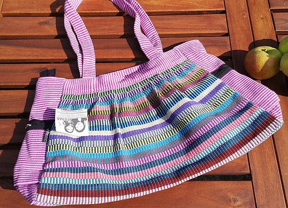 Gathered Bag : Lilac