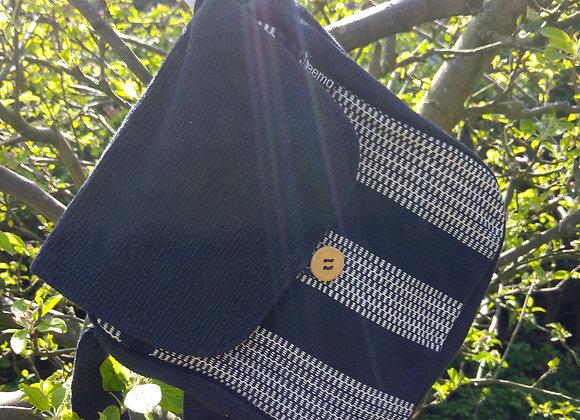Rachel Shoulder Bag - Black and White Check