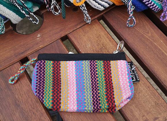 Mini Purse - Multi Color Check Three
