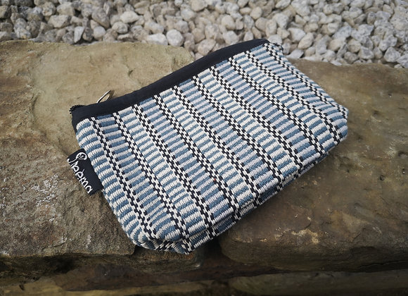 Small Pouch - Grey Check
