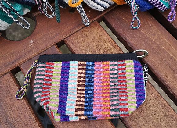 Mini Purse - Multi Color Check Two