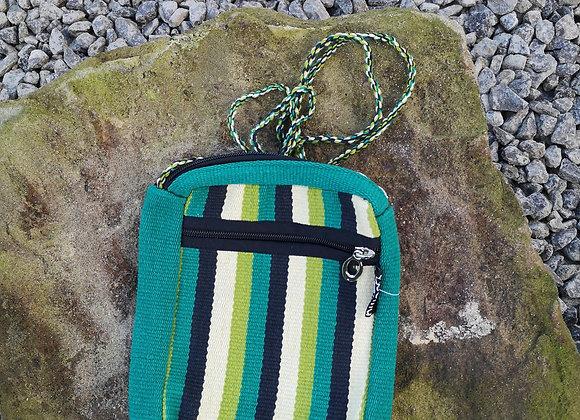 'Passport' Bag - Greens
